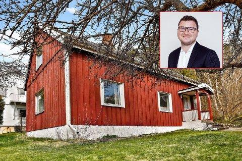 Enebolig på Kokkehaugen har en prisantydning på kun 1,3 millioner kroner.