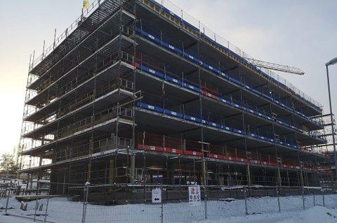 ALT SOLGT: De 20 leilighetene i Vika Hages første byggetrinn er solgt og det er fortsatt et snaut år til bygget står klart. Nå begynner lanseringen av byggetrinn to.