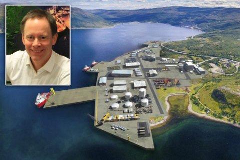 SØKTE: Nussir og direktør Øystein Rushfeldt søkte om å bli tildelt arealer i Markopneset industriområde.