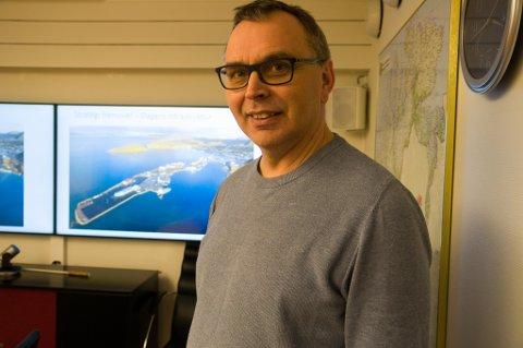 REKORDÅR: Administrerende direktør i Norsea Polarbase er svært fornøyd med at bedriften satte omsetningsrekord i 2020. Foto: Trond Ivar Lunga