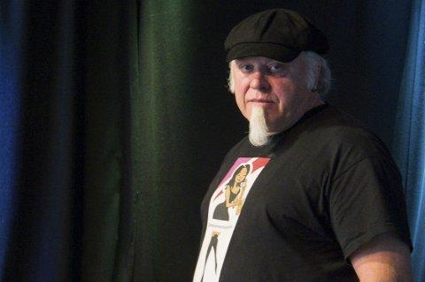 Bluesgeneral: Stein Egil Legård i Blueslaget lokst utøve. Foto: Arja Wiik-Hansen