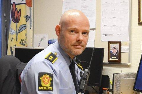Hardanger lensmannsdistrikt: Etterforskingsleiar Paul Henriksen. Arkivfoto: Kristin Eide