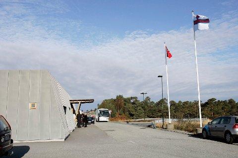 VIL BYGGE UT: Stord lufthamn ønsker å bygge ut utenlandsterminalen. Nå må flyene lande i Haugesund på grunn av innskjerpinger rundt koronatesting ved ankomst. Arkivfoto: Alf-Robert Sommerbakk