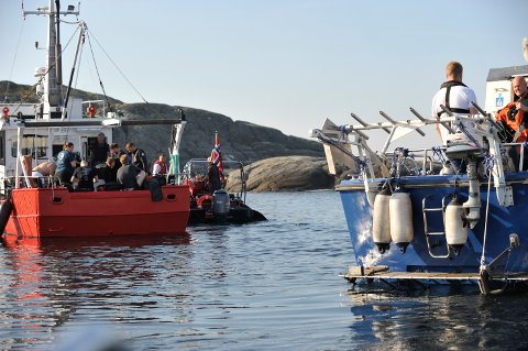 FRA ÅRETS NM. Foto: Slettaa dykkerklubb