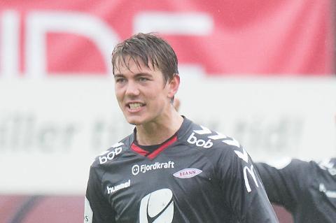 FRA BRANN TIL FKH: Fredrik Pallesen Knudsen.-
