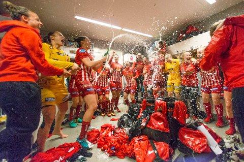 KLARE FOR CUPFINALEN: ... og nå venter 16-delsfinalen i Champions League for Avaldsnes.