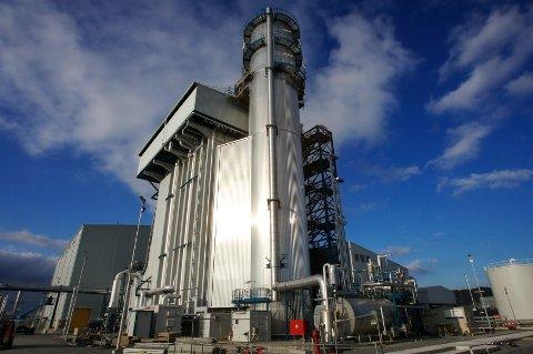 Statoil og Statkraft fant ingen kjøpere til gasskraftverket på Kårstø og verket skal nå rives. Foto: Alf Ove Hansen / NTB SCANPIX.