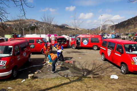 ÅLGÅRD: Landstreffet for russ i Stavanger er det mest populære arrangementet for russ fra Vestlandet og Sørlandet denne våren. I år er det ventet 14.000 gjester. Foto: Kent Skibstad / NTB scanpix