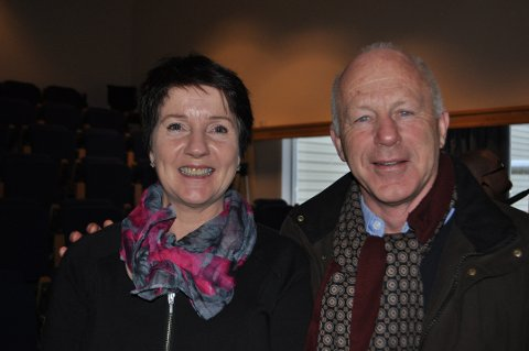 HAR TATT INITIATIVET: Daglig leder i Stord Næringsråd Anne Grete Sandtorv og administrerende direktør i Næringsforeningen Haugalandet Egil Severeide har tatt initiativet til det historiske møtet på Ryvarden førstkommende mandag.