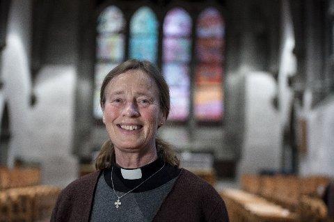 BISKOP: Anne Lise Ådnøy ble biskop i Stavanger bispedømme i 2019.