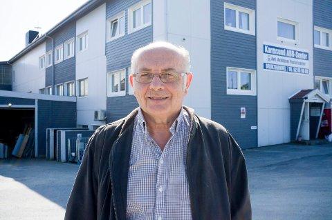MENER DET ØKER: Seniorrådgiver Halvor Hansen i Karmsund ABR-senter er initiativtaker bak debatten. Han mener det er et økende rusproblem i Karmøy. Tallene til politiet og Karmøy kommune viser ikke det samme.