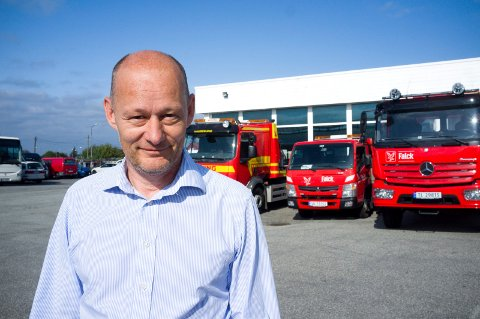 NY HVERDAG: Daglig leder i Haugaland Taxi, Georg Hillestad, mener det nye regelverket er positivt for drosjebransjen.