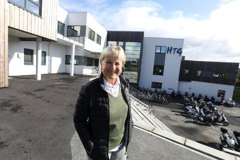 Haugesund 1809 2019 Randi Wendelbo Holgersen, eier og tidligere rektor ved HTG, tidligere Holgersens Handelsskole
