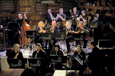 ÅPNER SILDAJAZZ: Haugaland Storband skal åpne årets Sildajazz onsdag 5. august. i Scandic Maritim Hall.