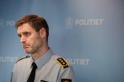 Politiadvokat Fredrik Martin Soma fra Sør-Vest politidistrikt. Foto: Carina Johansen / NTB