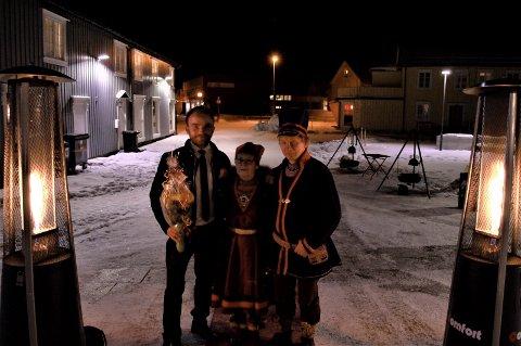 Sameblod førpremiere Jim Hansen Lillie Sparrok Tom Kappfjell
