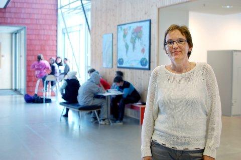 REDEGJØR: Karin Tverå Juvik, enhetsleder ved Kippermoen ungdomsskole
