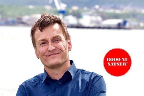Roger Martinsen har bakgrunn fra Nordlands Framtid, Helgeland Arbeiderblad og Rana Blad. Han jobber nå i Mye i Media.