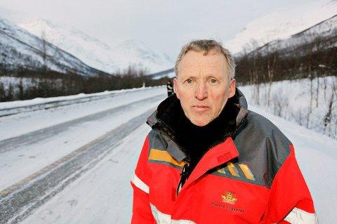 Regionveisjef Torbjørn Naimak må innse at han ikke kommer i havn med hele E6 Helgeland sør.