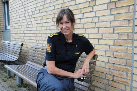 Lisbeth Aarvik, stasjonssjef på Mosjøen politistasjon