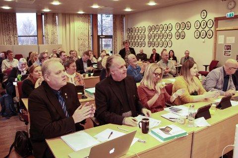 KONSTITUERT: Onsdag ble Vefsn kommunestyre konstituert.