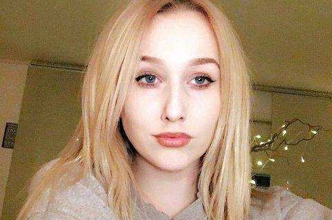 PÅKJØRT: Eleonora Qvist (18) i Sørreisa fikk en ublid start på mandagen.