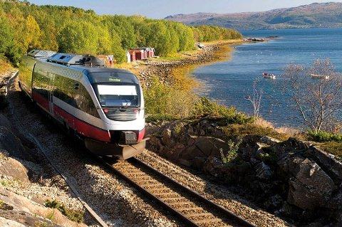 UTBEDRES: Nordlandsbanen skal utbedres til halvannen milliard kroner.
