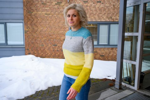 SMITTEVERN: Hege Harboe-Sjåvik forklarte at helsevesenet risikerer en overbelastning dersom koronasmitten får bre om seg.