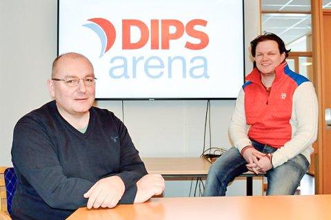 Fv. Prosjektleder ved Helgelandssykehuset Tom Dahlberg, og opplæringsansvarlig Espen Walla Sørensen.