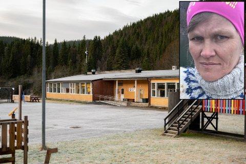 Kjøpelystne: Leder Ann Kristin Meyer og Nord-Vefsn Velforening ønsker å kjøpe Elsfjord skole.