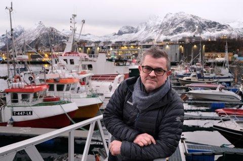 """REDER: Rolf Bjørnar Tøllefsen er eier av fiskebåten """"Rolf Asbjørn"""" som nå har åtte bekreftede smittetilfeller. Dette skjedde etter at de har vært 26 dager på fiske."""