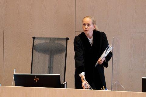 RETTSSAK: Dommerfullmektig Veronika Steen Svendsen ledet rettssaken i Helgeland tingrett.