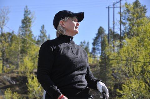 Ann Kristin Wirkola, Alta Golf Klubb var suveren i dameklassen. Foto: Oddgeir Isaksen