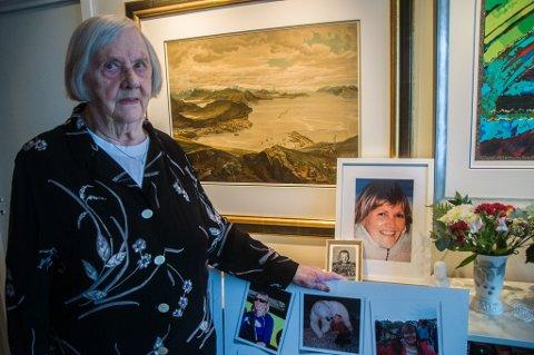 - Det var et ekstra hardt slag at jeg ikke kunne oppfylle min datters siste ønske, sier mamma Lilla Eriksen (90).