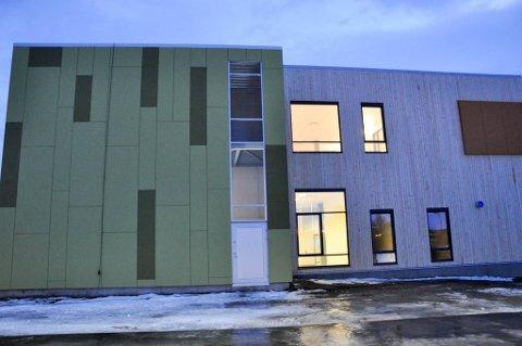ALTA VGS: Det nye bygget til Alta videregående skole.