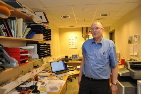 SIDEN 1980: Kjell Jensen har vært sjef for vinmonopolet i Alta siden 1980.