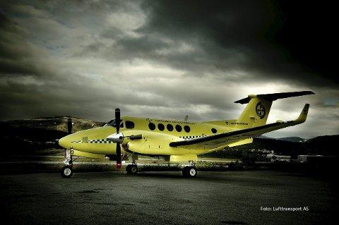 MÅTTE KANSELLERE: Lufttransport måtte kansellere ambulanseoppdrag til Mehamn på grunn av GPS-jamming fra russernes side.