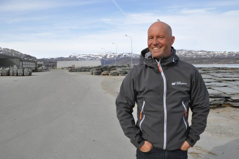 STYRELEDER: John Vegar Holten er styreleder i Alta Skiferbrudd SA. Foto: Oddgeir Isaksen