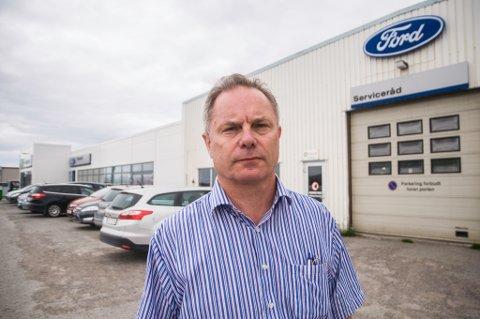 OVERRASKET: Finnmark fylkeskommunen begjærte et av Toralv Gunder «Toto» Hagens selskaper, Verk AS, konkurs. Noe som overrasket forretningsmannen.