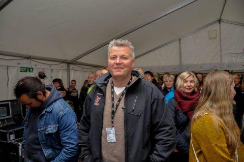 LEGGER NED: Stig Anton Eliassen melder oppbud.