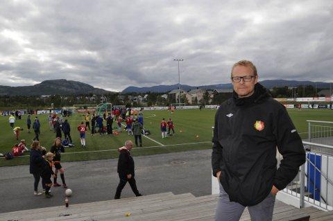 Reidar Næss fra Hammerfest på plass under Altaturneringen i år.