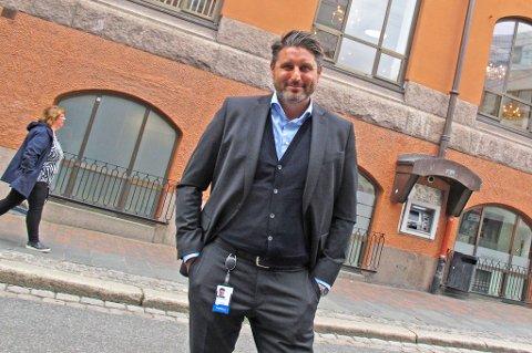 Konserndirektør salg og marked i Sparebank1 Nord-Norge, Ronni Møller Pettersen.