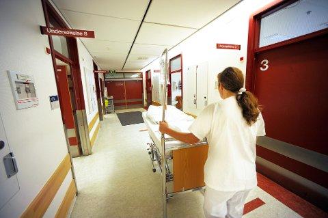 TRENGER SYKEPLEIERE: Sykepleiere og helsefagarbeidere er det første seniorrådgiveren ved Nav Finnmark nevner når det gjelder yrkesbehovene i fylket.