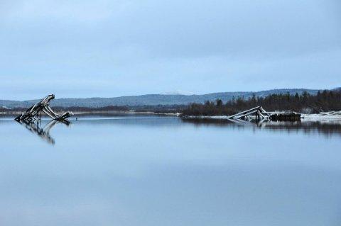 KALDT: -1,6 grader ble det målt i Nyrud søndag kveld. Bildet er tatt ved en annen anledning. Foto: Steinar Wikan