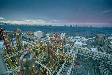 TREKKPLASTER: Statoils LNG-anlegg på Melkøya er trekkplaster for teknologene.