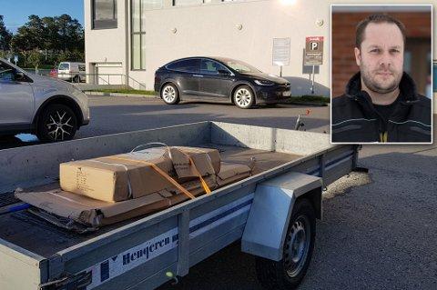 «MERKELIG»: Jon Arne Pettersen beskriver parkeringsbota som en merkelig hendelse.