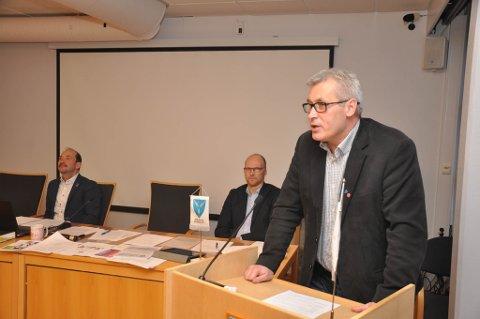 OVERRASKET: Varaordfører Terje Wikstrøm i Hammerfest kommune så ikke for seg denne utviklingen i Hammerfest.