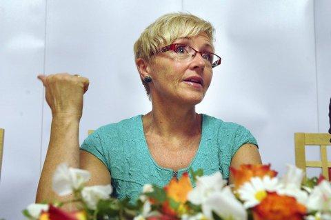 Liv Signe Navarsete (Sp). Arkivfoto: Terje Pedersen, ANB