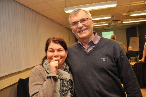 I SLEKT: Trine Noodt og Anton Dahl er i slekt og begge er Venstre-politikere.