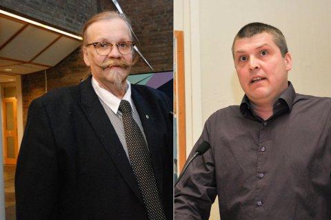 UHOLDBART: Kurt Wikan (Sp) og Bengt Rune Strifeldt mener at dagens pasientreiser ikke holder mål.